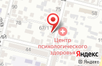 Схема проезда до компании Медиа Кит в Краснодаре