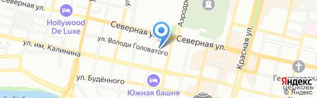 ЭЛЕКТРО МАРКЕТ на карте Краснодара