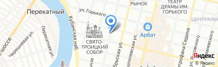 Старая мельница на карте Краснодара