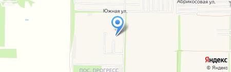 Прогресс на карте Краснодара