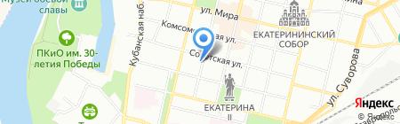 Сто дорог на карте Краснодара