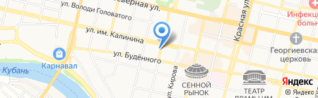 Югторгагрегат на карте Краснодара