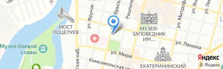 Дальние страны на карте Краснодара