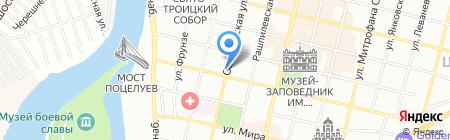 Мастертеннис-Юг на карте Краснодара