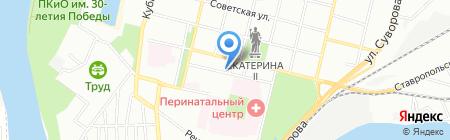 Ринтек на карте Краснодара