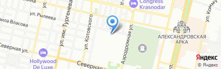 Ларец игрушек на карте Краснодара