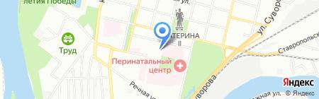 Банкомат Банк Возрождение на карте Краснодара
