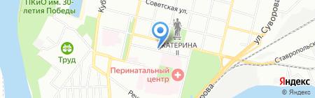Адвокатский кабинет Загайнова С.В. на карте Краснодара