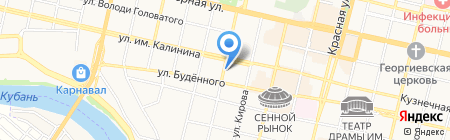 АльфаСтройКомплект на карте Краснодара