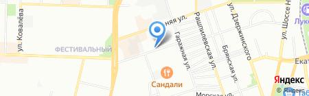 Эко-Юг на карте Краснодара