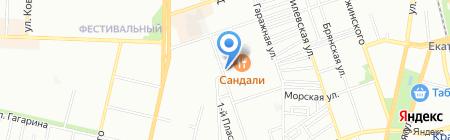 Световые решения на карте Краснодара