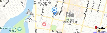 Фрезия на карте Краснодара