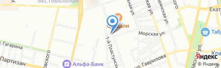 Brand Seven на карте Краснодара
