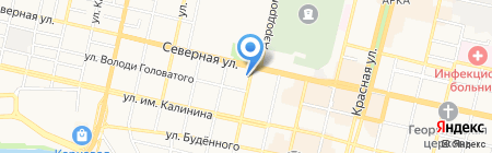 Пермо-Маркетинг на карте Краснодара