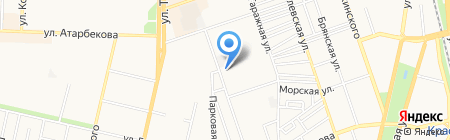 Бари на карте Краснодара