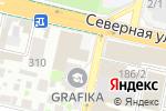 Схема проезда до компании PamPam в Краснодаре
