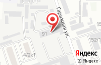 Схема проезда до компании Алрис в Краснодаре
