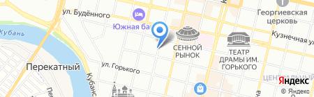 Алекс на карте Краснодара
