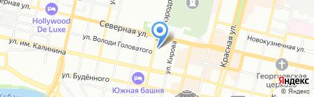 МВ-Строй на карте Краснодара
