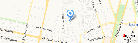 Автобонус на карте Краснодара
