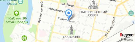 МобиТур на карте Краснодара