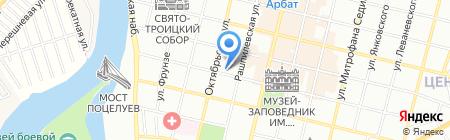 Кеско на карте Краснодара