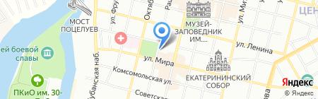 Mexx на карте Краснодара