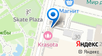 Компания Цветочница Марта с парижскаго Монмартра на карте