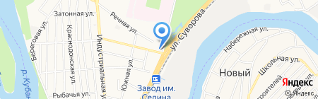 Детский сад №81 на карте Краснодара