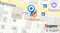 Компания Делис на карте