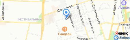 Дарина на карте Краснодара