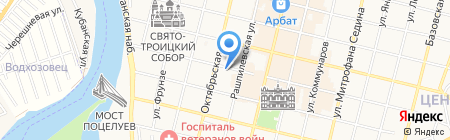 Репортер на карте Краснодара
