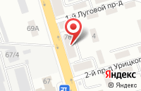 Схема проезда до компании Красное & Белое в Орехово-Зуево