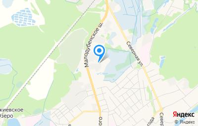 Местоположение на карте пункта техосмотра по адресу Московская обл, г Орехово-Зуево, ш Малодубенское, д 4 к а