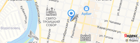 Anex на карте Краснодара