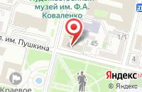Схема проезда до компании Sofik room в Солнечногорске