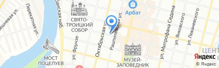 Очаг на карте Краснодара