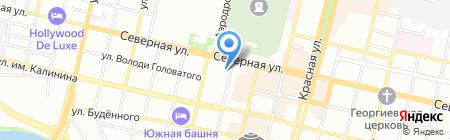 Bravura на карте Краснодара