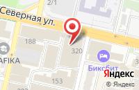 Схема проезда до компании Корсо Тензоприбор в Краснодаре