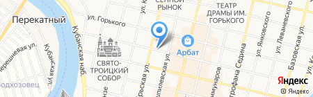 Almia на карте Краснодара