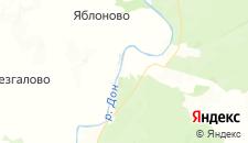 Отели города Донское 1-е на карте