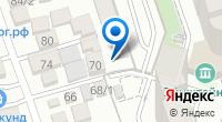 Компания ЦОСАТ на карте