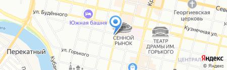 Синьор Антонио Петти на карте Краснодара