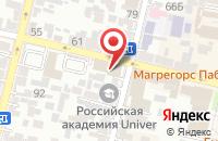 Схема проезда до компании Южная Телекоммуникационная Компания в Краснодаре