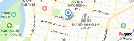 Краевая гомеопатическая аптека на карте Краснодара