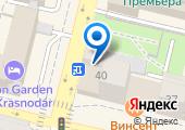 Центр занятости населения г. Краснодара на карте