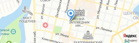 Альфа-Холдинг на карте Краснодара
