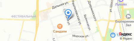 АкваИнжСервис на карте Краснодара