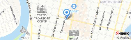 Музей почтовой связи на Кубани на карте Краснодара