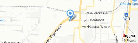Грин-ПИКъ Юг на карте Краснодара